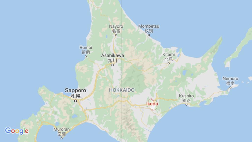 池田町 マップ