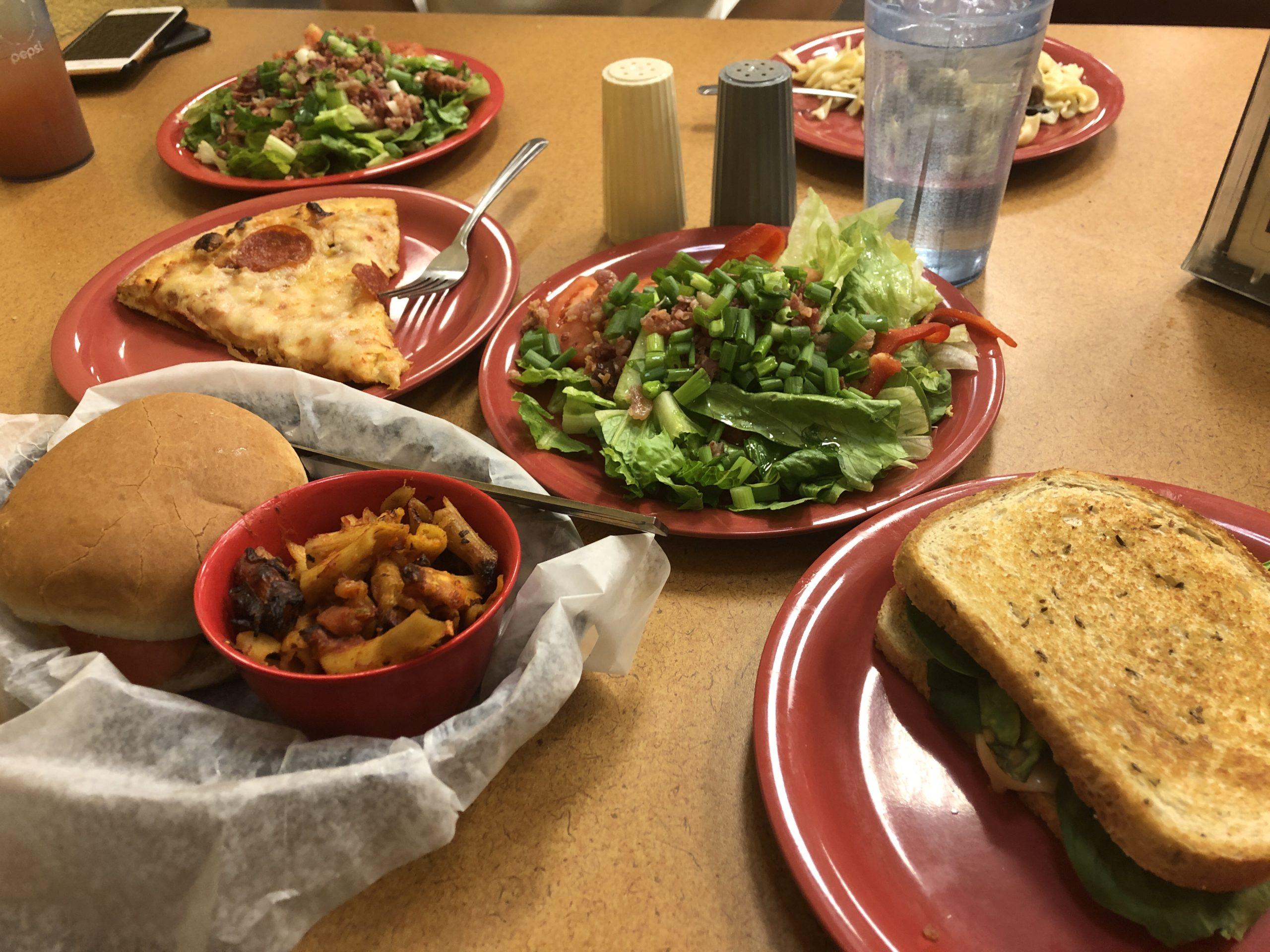学生食堂 料理
