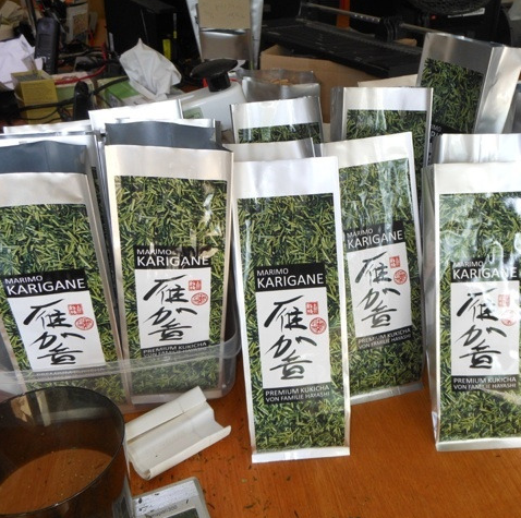 greentea packaging