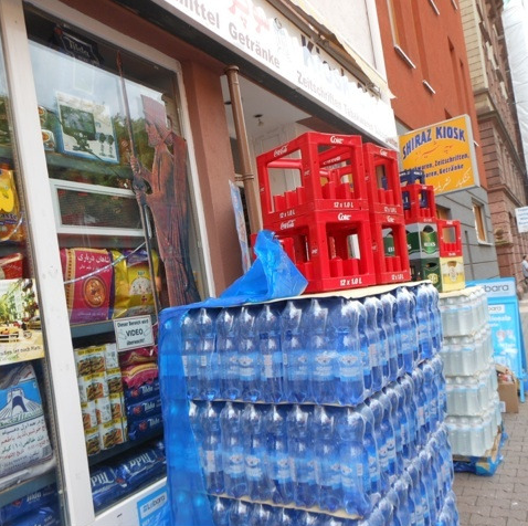 buying water