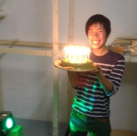 matcha cake candle bd