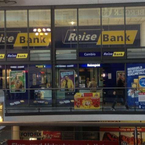 bank n