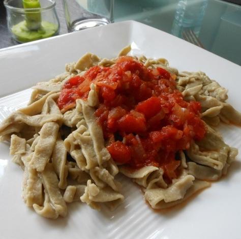 last day matcha pasta