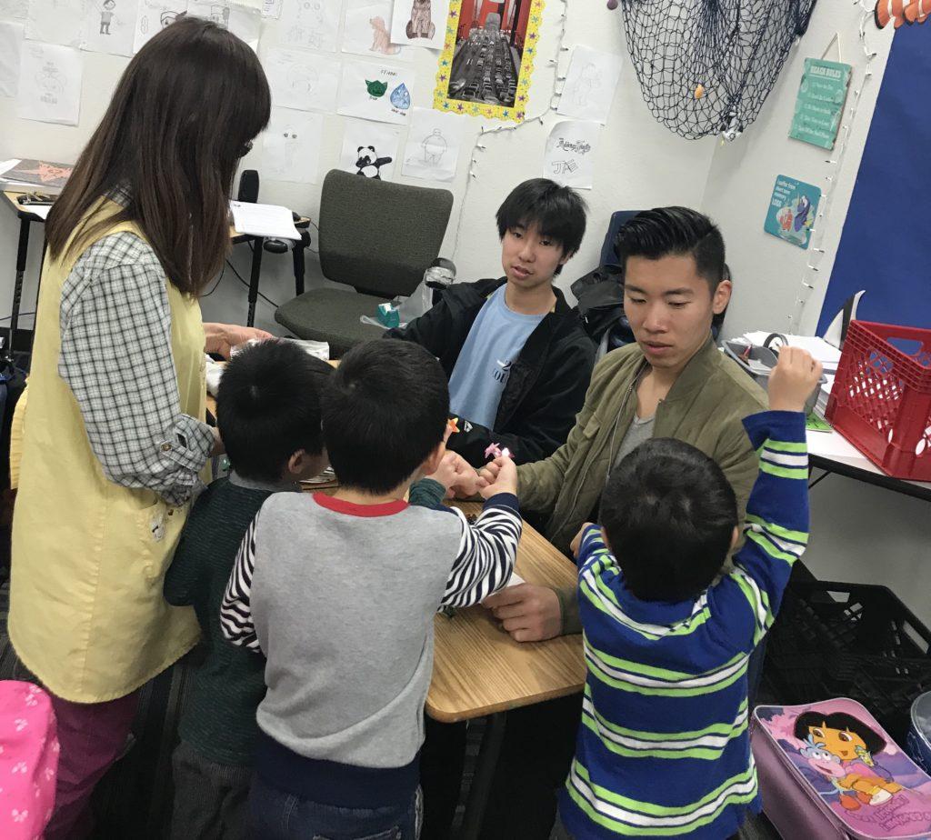 学校 ボランティア