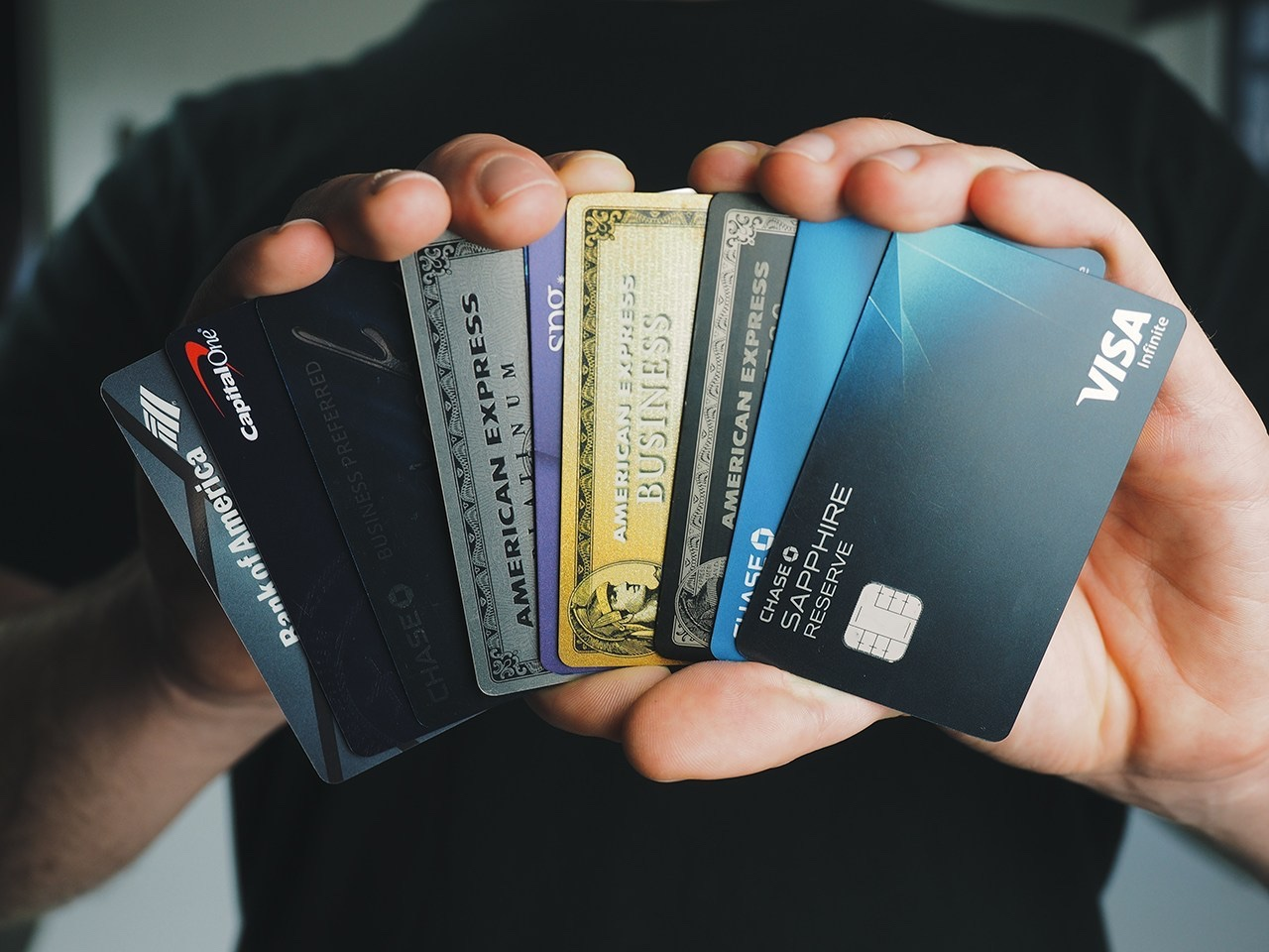 my credit cards