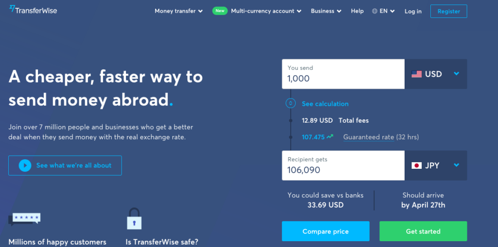transferwise photo