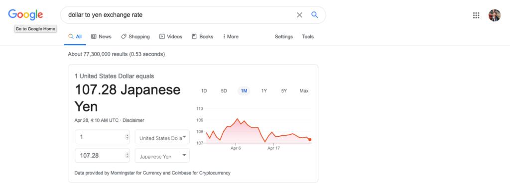 為替レート 4.26