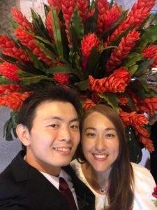 keita with wife